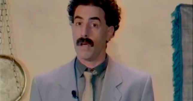 Borat defends Rudy Giulianis attack against Borat 2 scene
