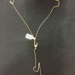 Long chain necklace, $15