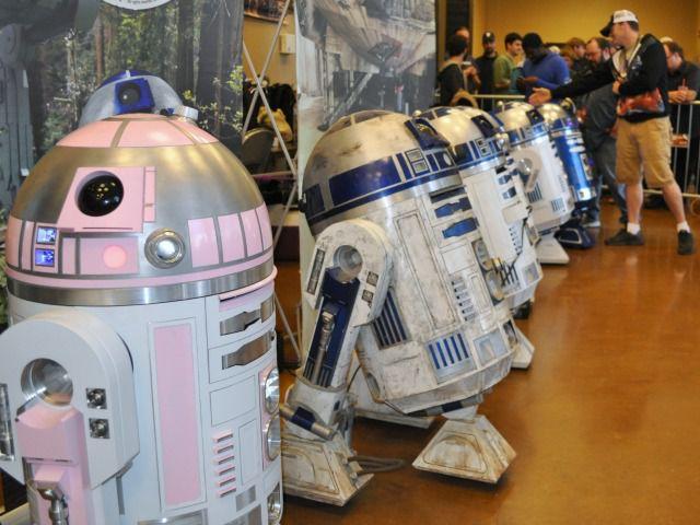 A team of R2D2 robots