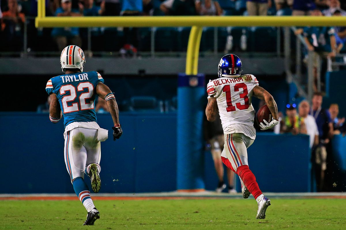 the latest d4afb fa13f Odell Beckham Jr. runs away with WR Pro Bowl fan vote - Big ...