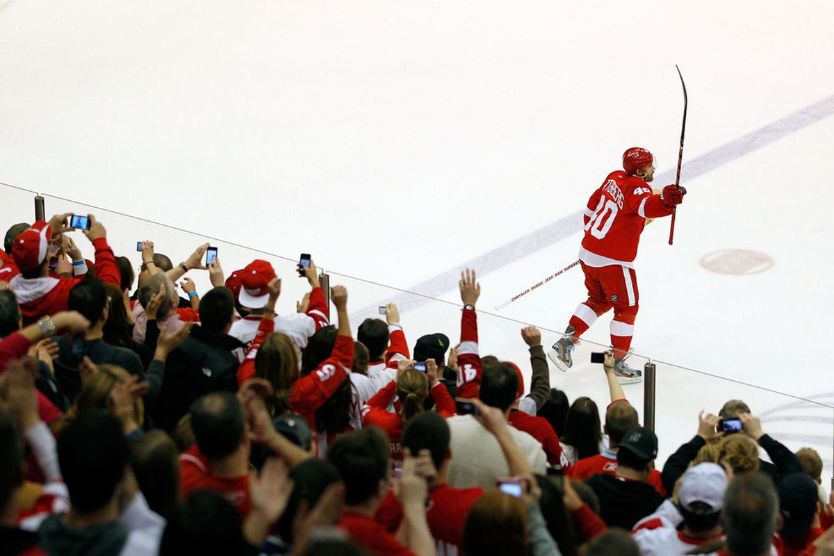 Will we see this scene in June but with a trophy instead of a stick?