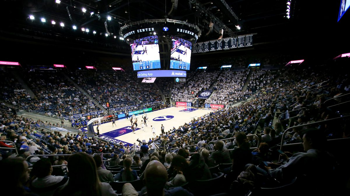 BYU and Cal State Fullerton play a college basketball game at the Marriott Center in Provo on Tuesday, Nov. 5, 2019. BYU won 76-58.