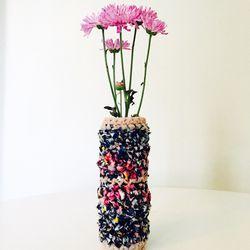 London Kaye crocheted vase, $59