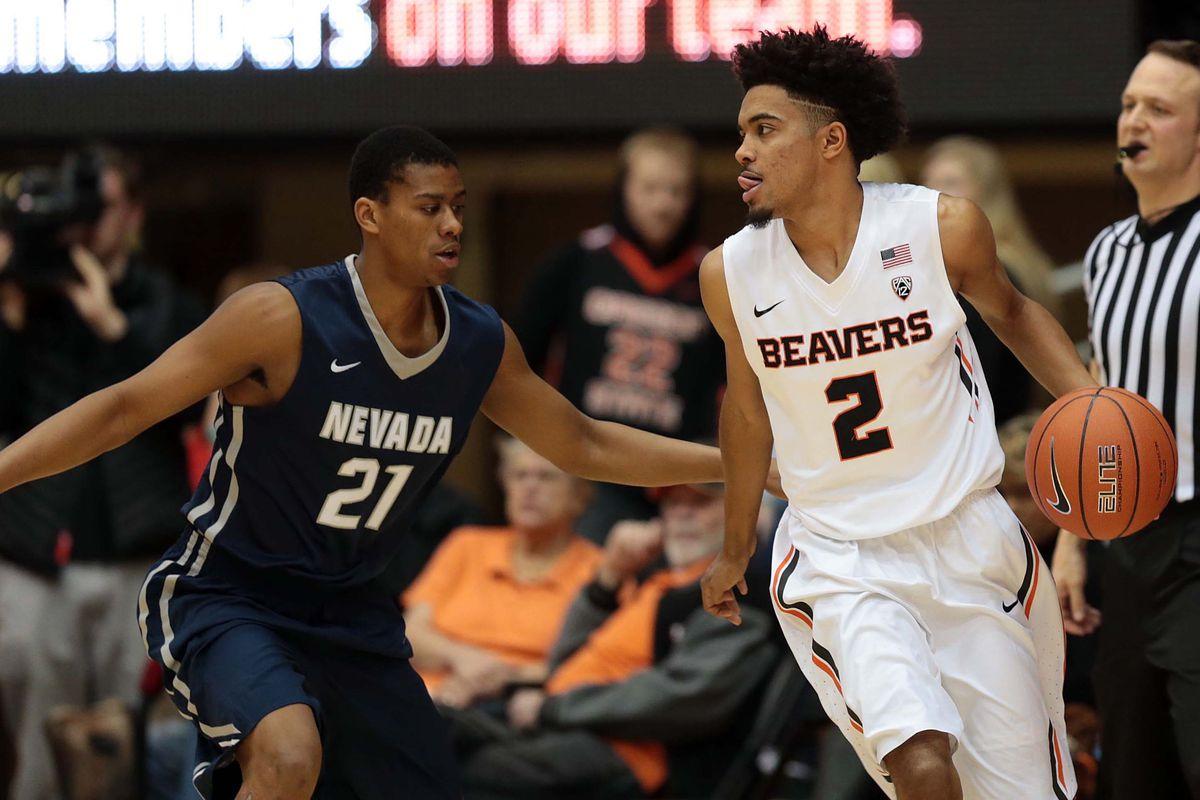 NCAA Basketball: Nevada at Oregon State