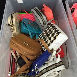 Milly small and medium bags, $65