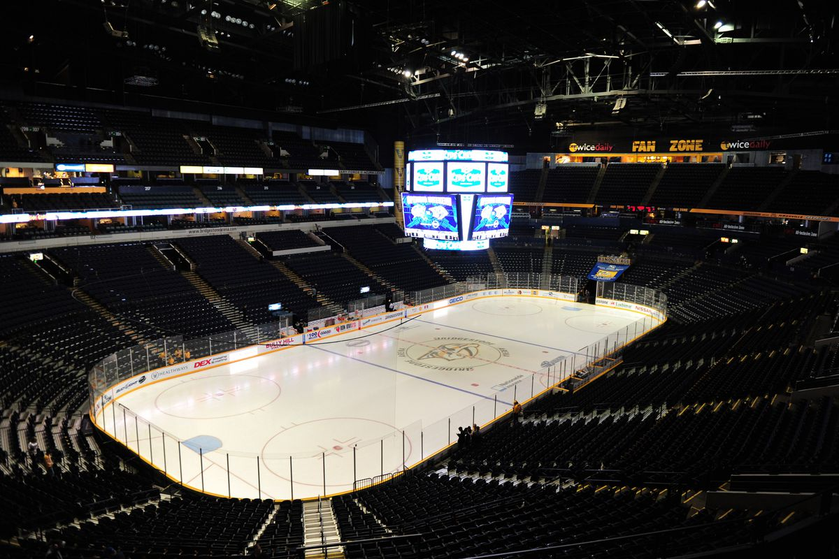 Stellar graphics? Nope, this is the actual arena.