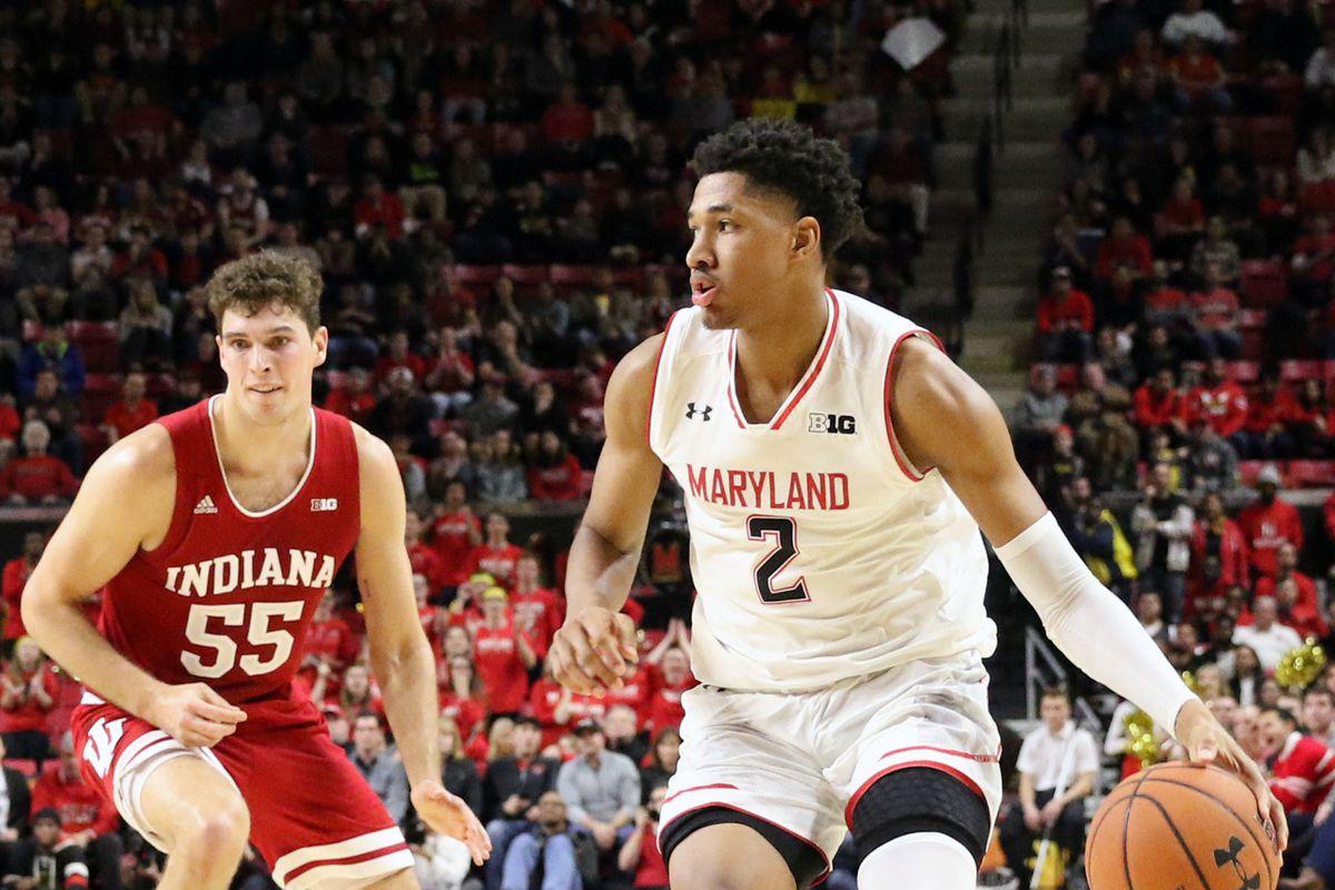 Maryland basketball Aaron Wiggins vs Indiana