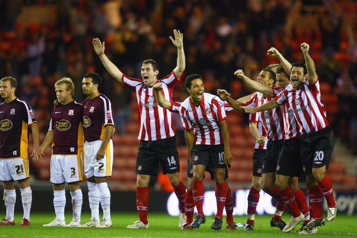 Sunderland v Northampton Town - Carling Cup