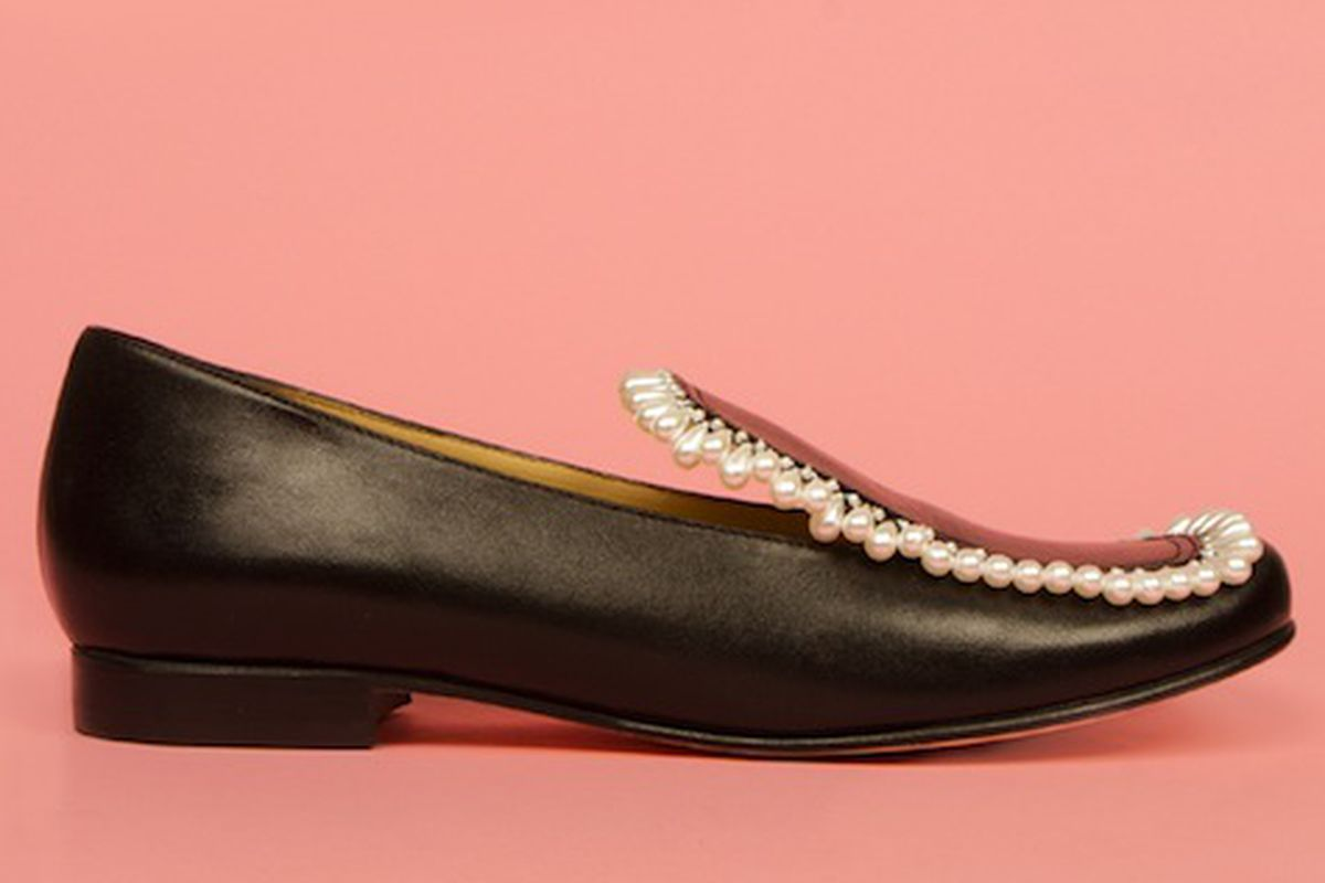 Chloe Sevigny for Opening Ceremony Pearl Loafers