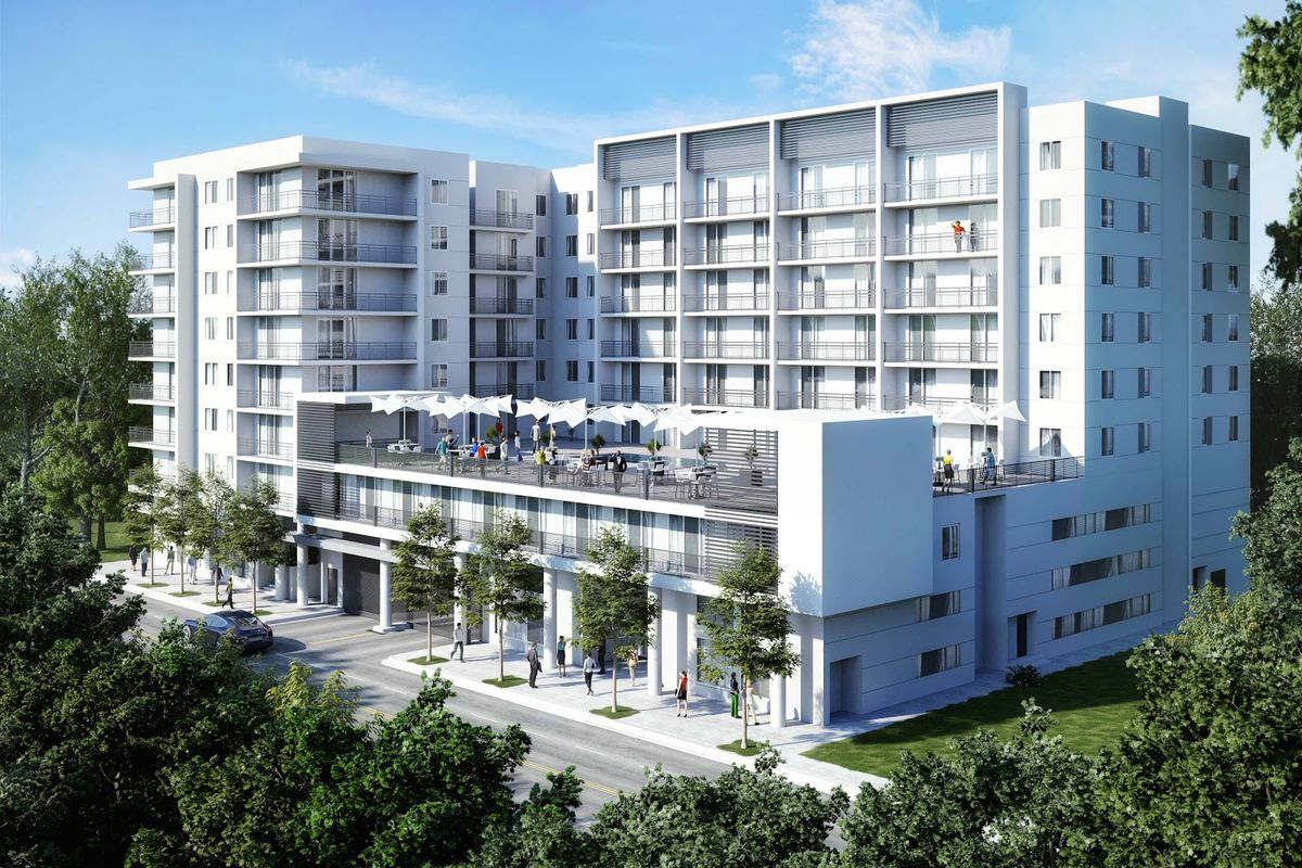 Riverview Tower Apartments Tops Off In Little Havana