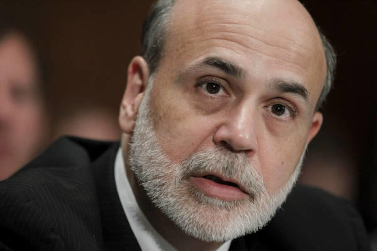 FILE - In this Sept. 30, 2010 file photo, Federal Reserve Chairman Ben Bernanke testifies on Capitol Hill  Washington. The Federal Reserve says it will spend $40 billion a month to purchase mortgage-backed securities because the economy is too weak to red