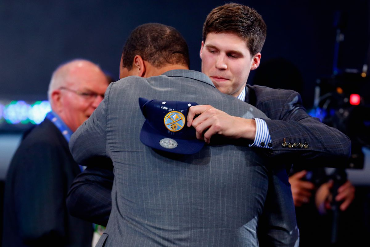 """Doug McDermott showed his stuff today against the team that """"drafted"""" him."""