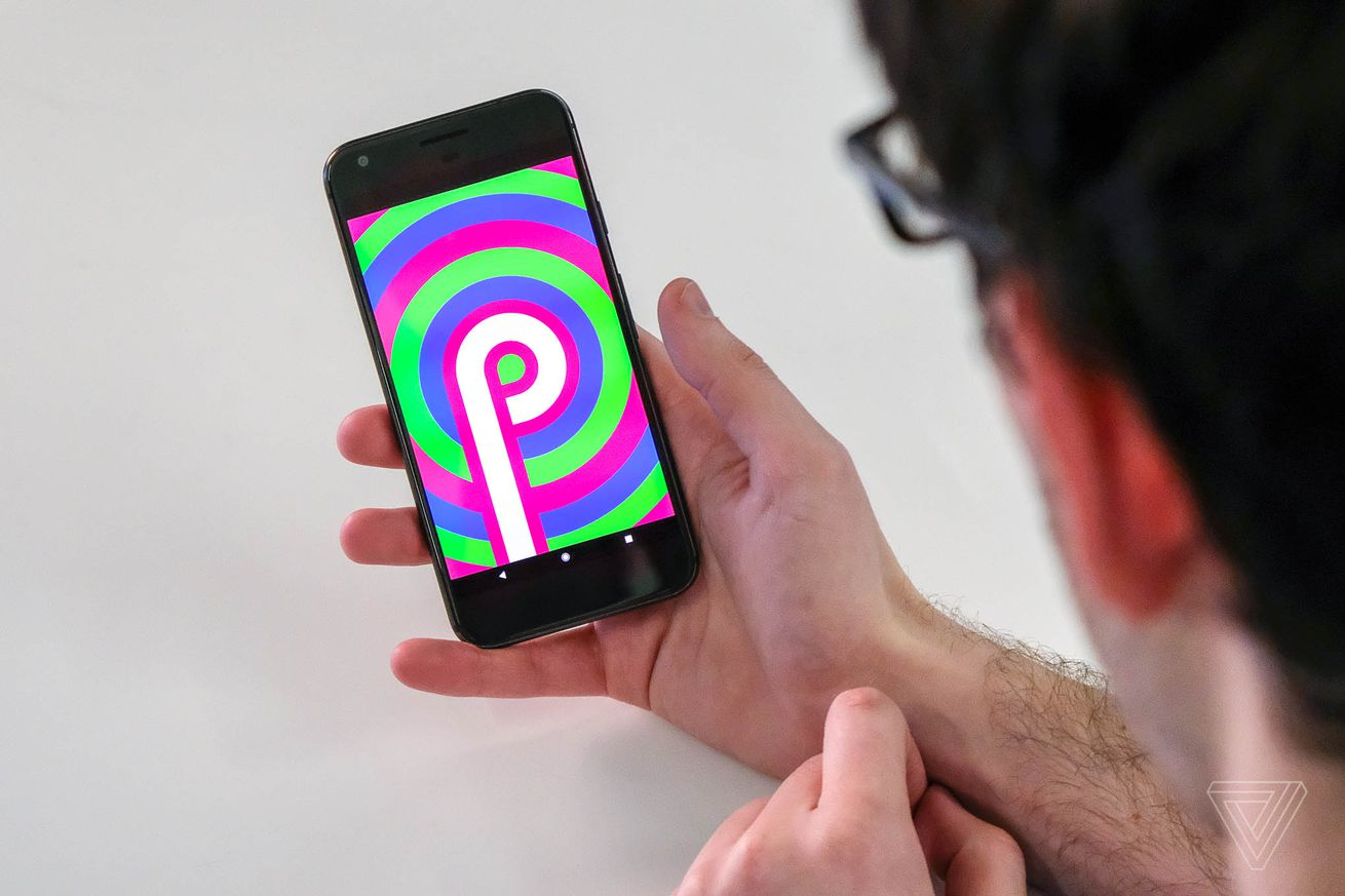 the biggest early visual changes in android p