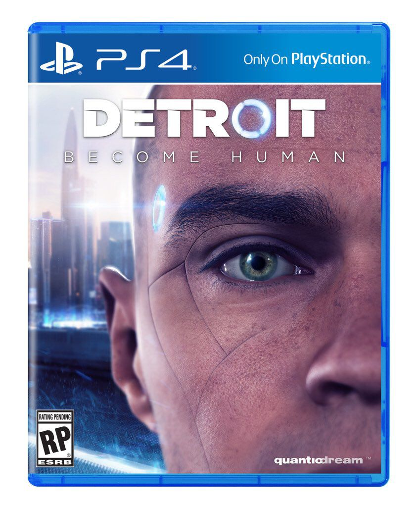 Detroit: Become Human's cover art is uncomfortably bad - Polygon