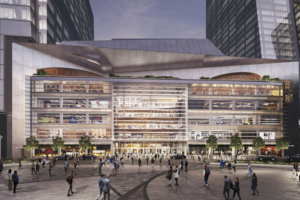 Hudson Yards S Expansive Shopping Center And Restaurants Get