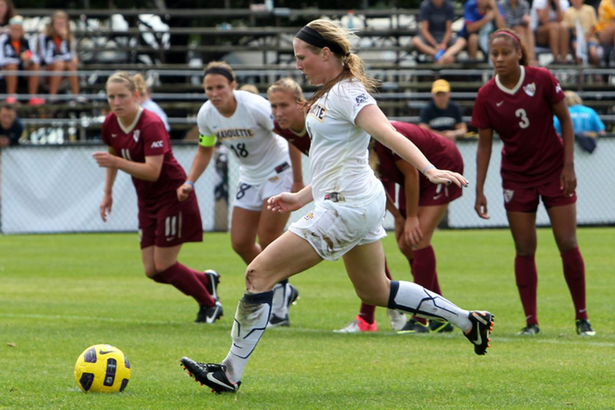 Maegan Kelly and Marquette are headed to the NCAA tournament for the fifth consecutive season.