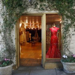"""Make an appointment for a consultation at the ultra-charming <a href=""""http://atelierdesmodistes.com"""">Atelier des Modistes</a> (1903 Hyde St.) to start planning your custom-made dream dress. The floral <a href=""""http://atelier-des-modistes.myshopify.com/pag"""