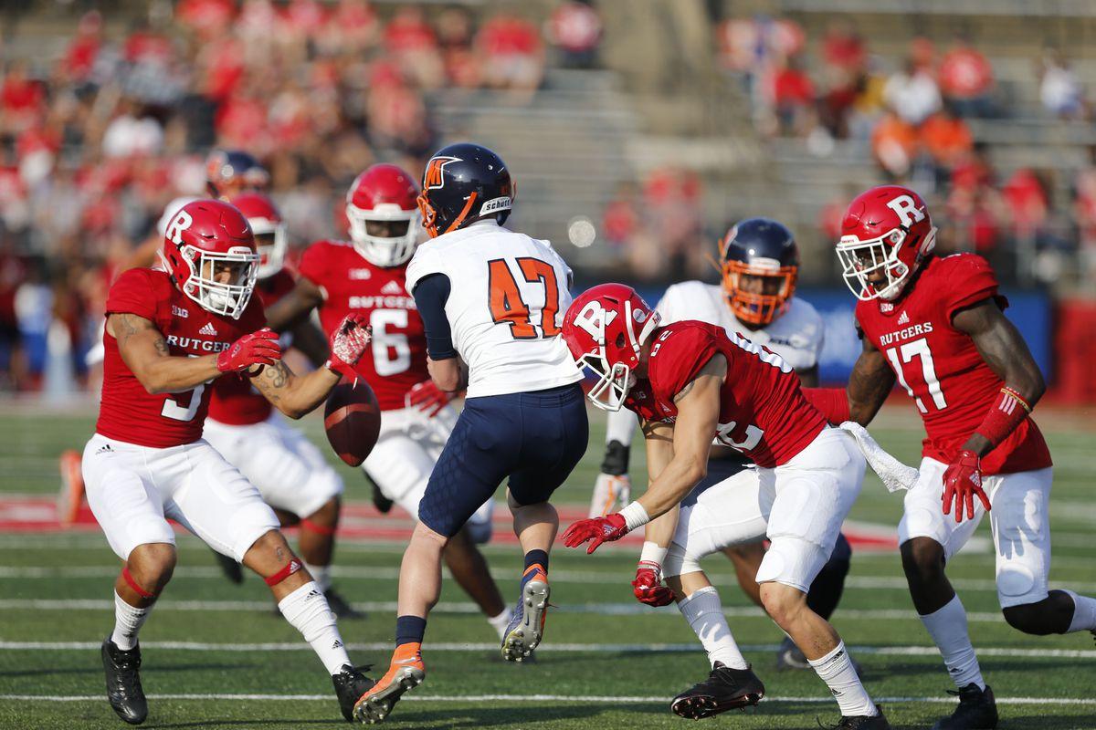 NCAA Football: Morgan State at Rutgers