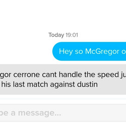 """Seeing someone refer to Conor McGregor as """"Gregor"""" is definitely a first for me."""