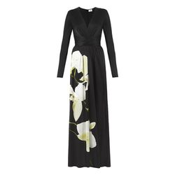 Maxi Dress in Black Orchid Print, $69.99 (Available on Net-A-Porter)