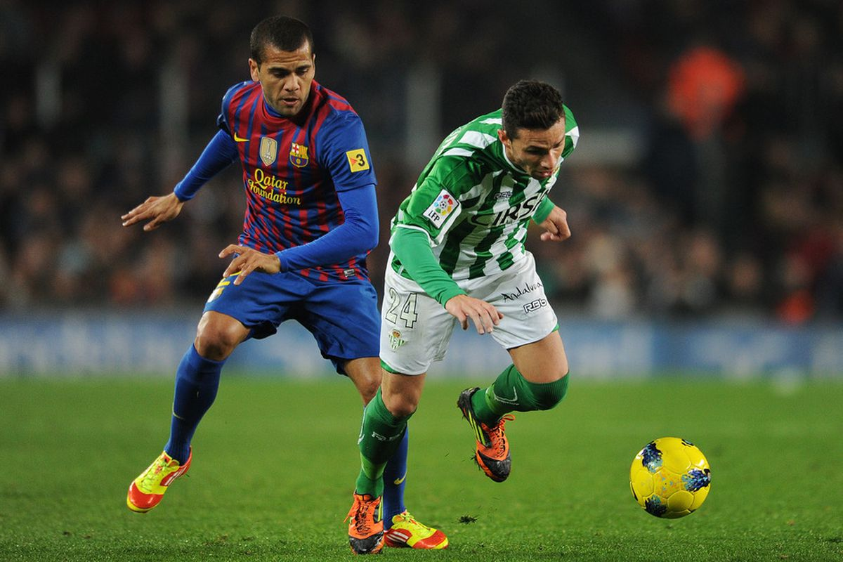 Alves had a forgettable game yesterday.