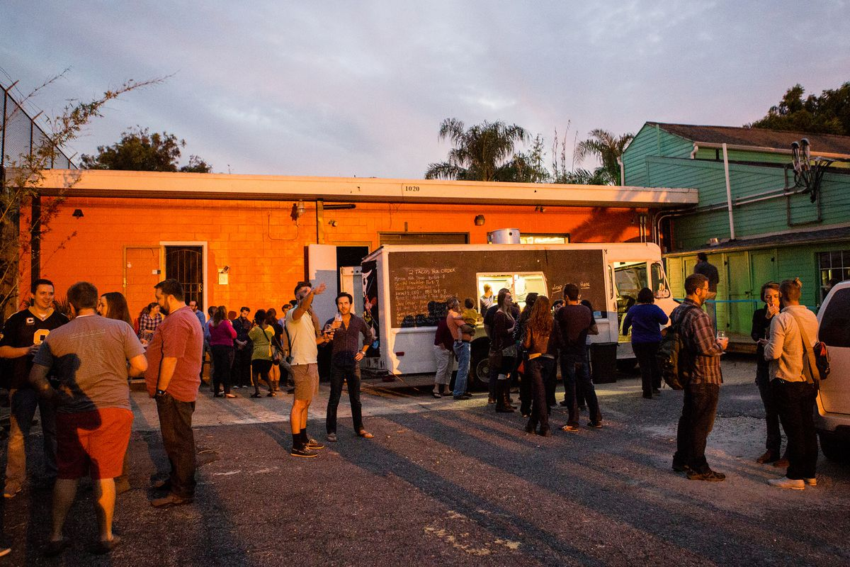 Courtyard Brewery hosts two killer booze events during Faux/Real Fest.