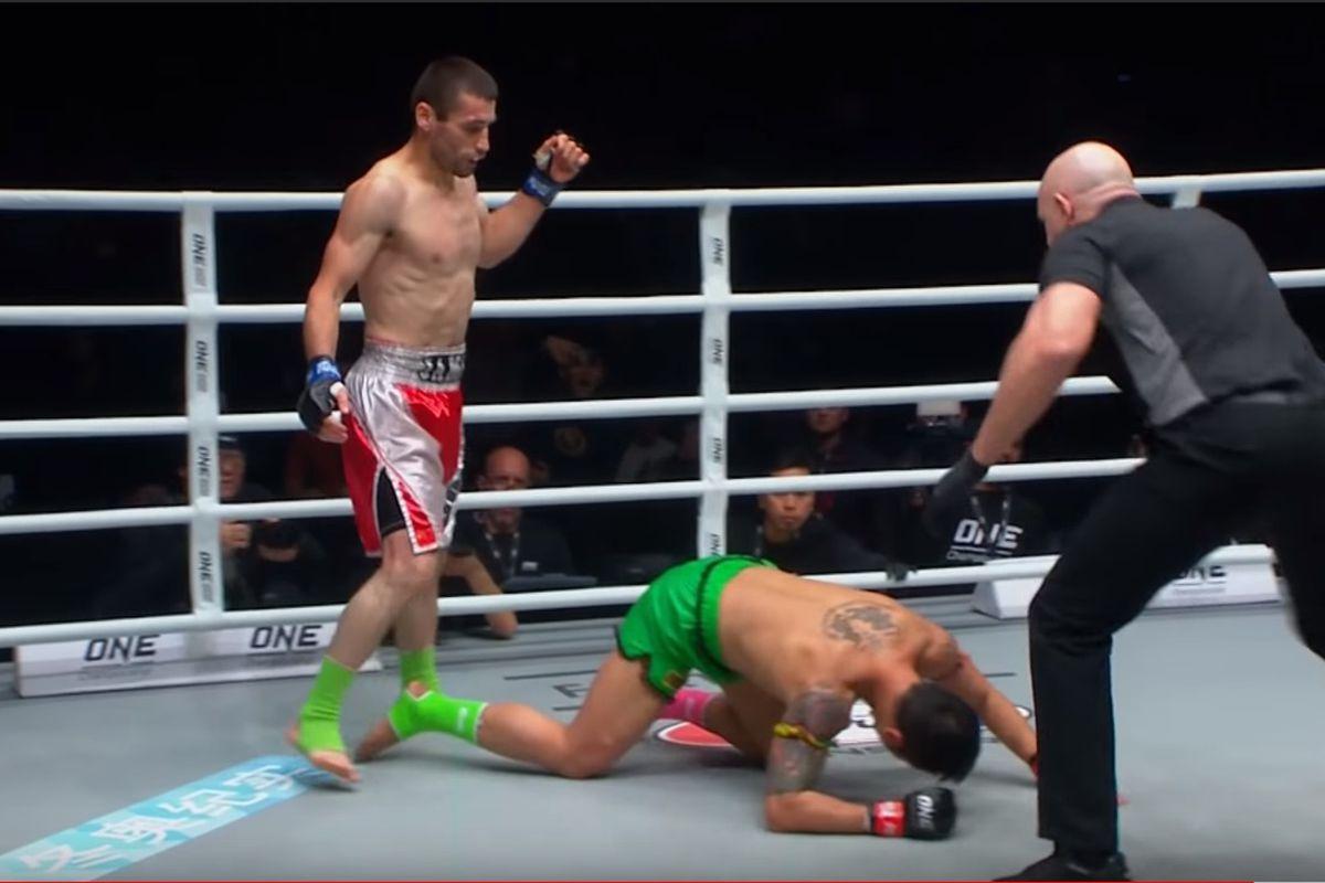 Kết quả hình ảnh cho Yodsanklai Fairtex vs Yusupov