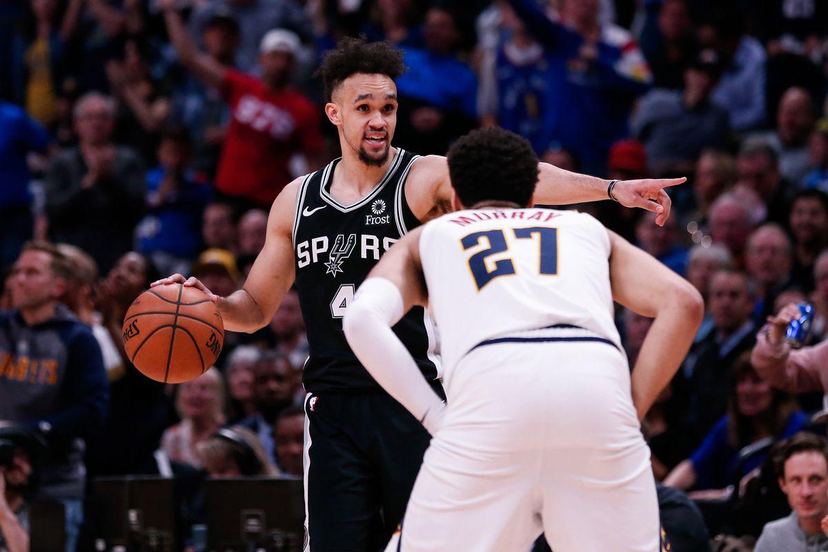 NBA: Playoffs-San Antonio Spurs at Denver Nuggets