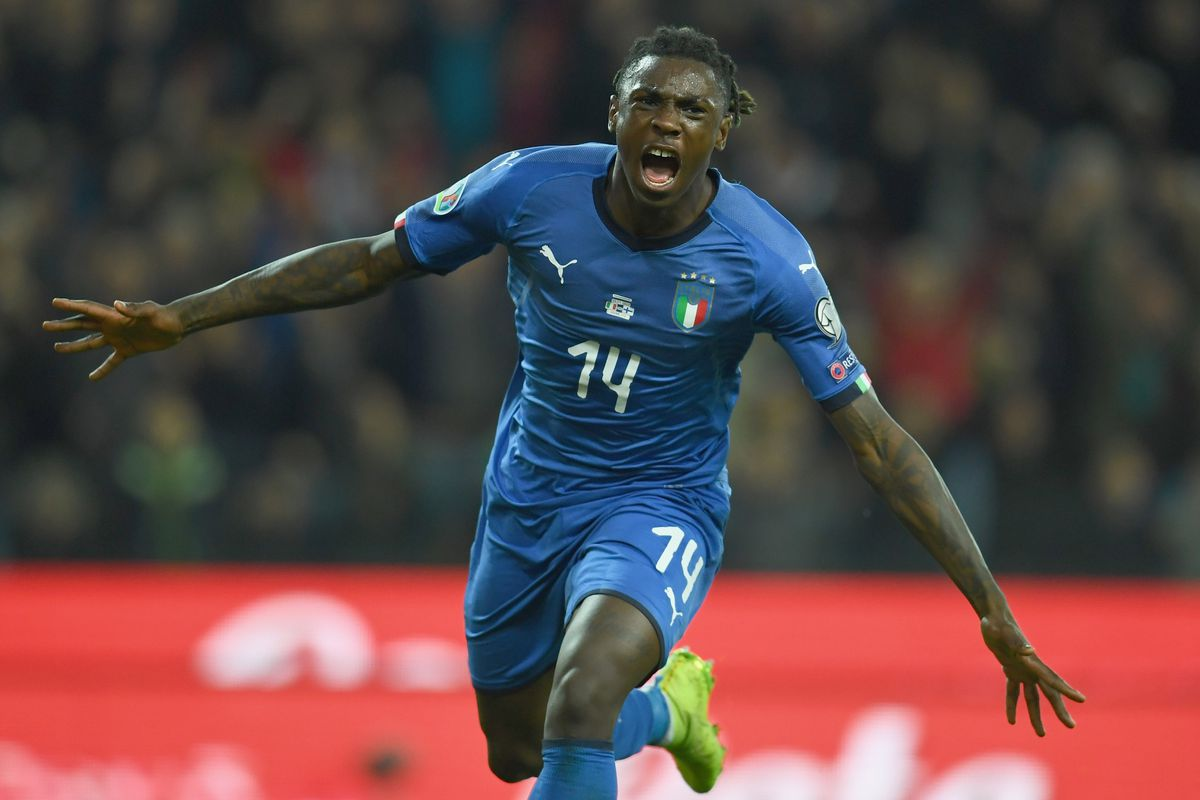 Moise Kean Keeps Showing He S Worthy Of The Hype Black White Read All Over