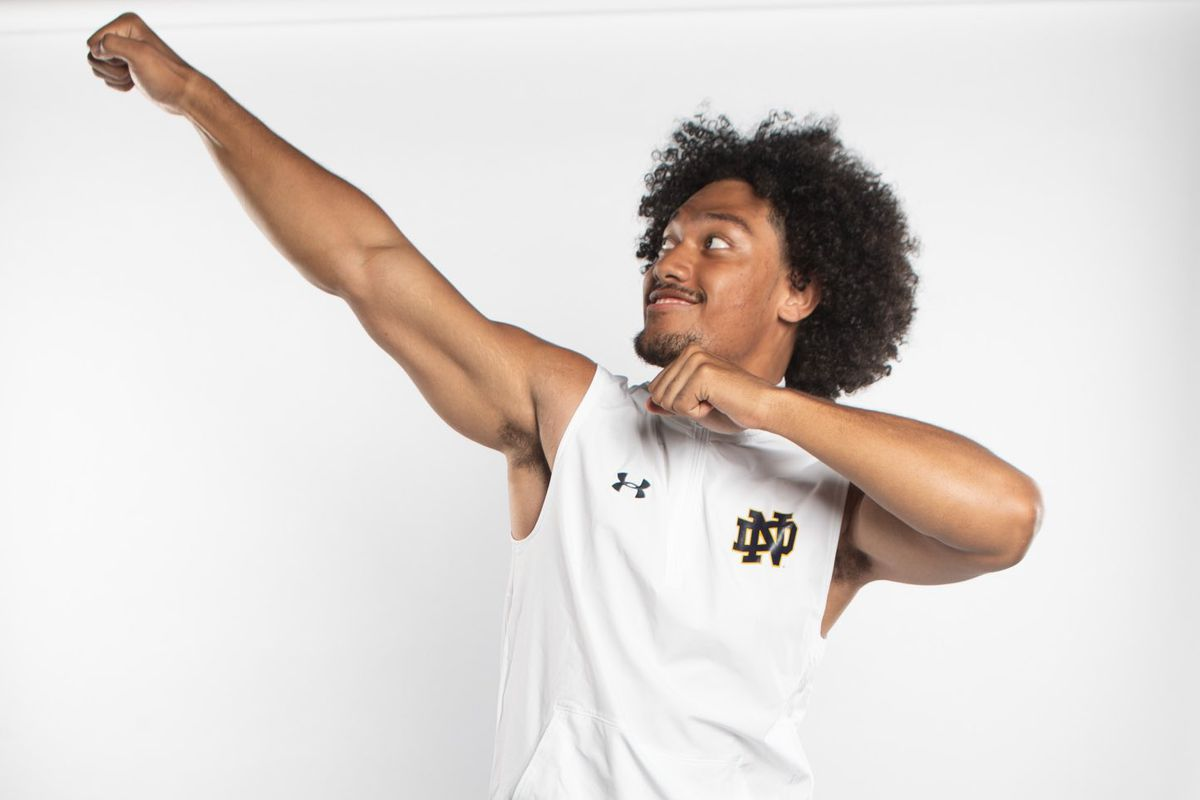 "4-Star LB Niuafe ""Junior"" Tuihalamaka commits to Notre Dame Football - One  Foot Down"