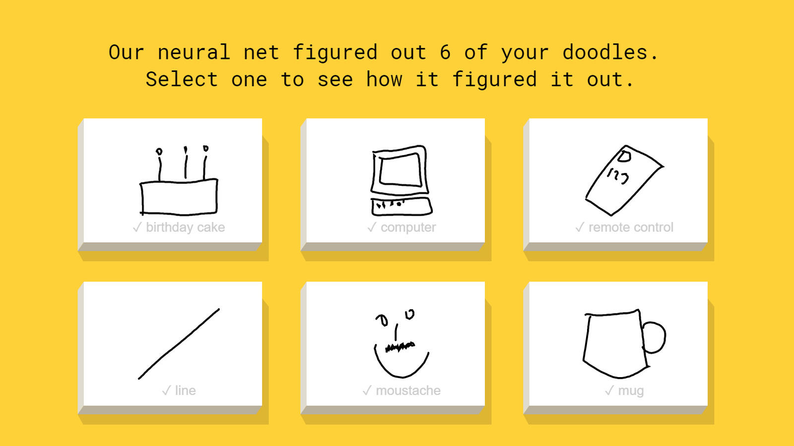 This Google-powered AI can identify your terrible doodles ...