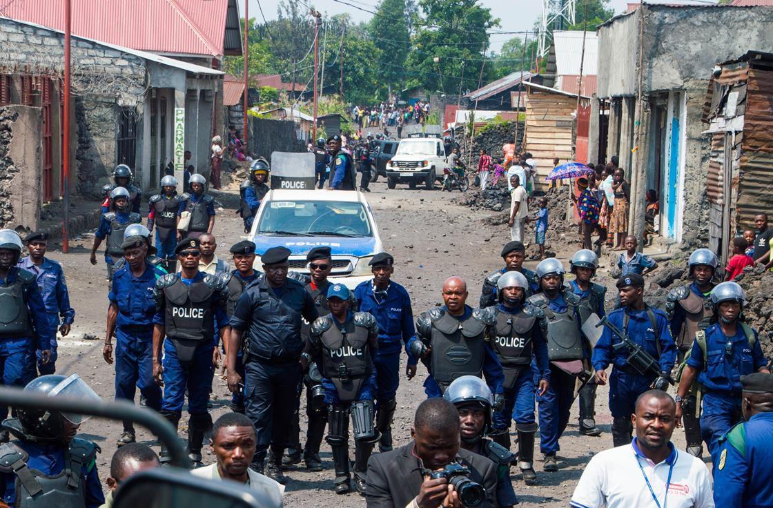 Police in Democratic Republic of the Congo