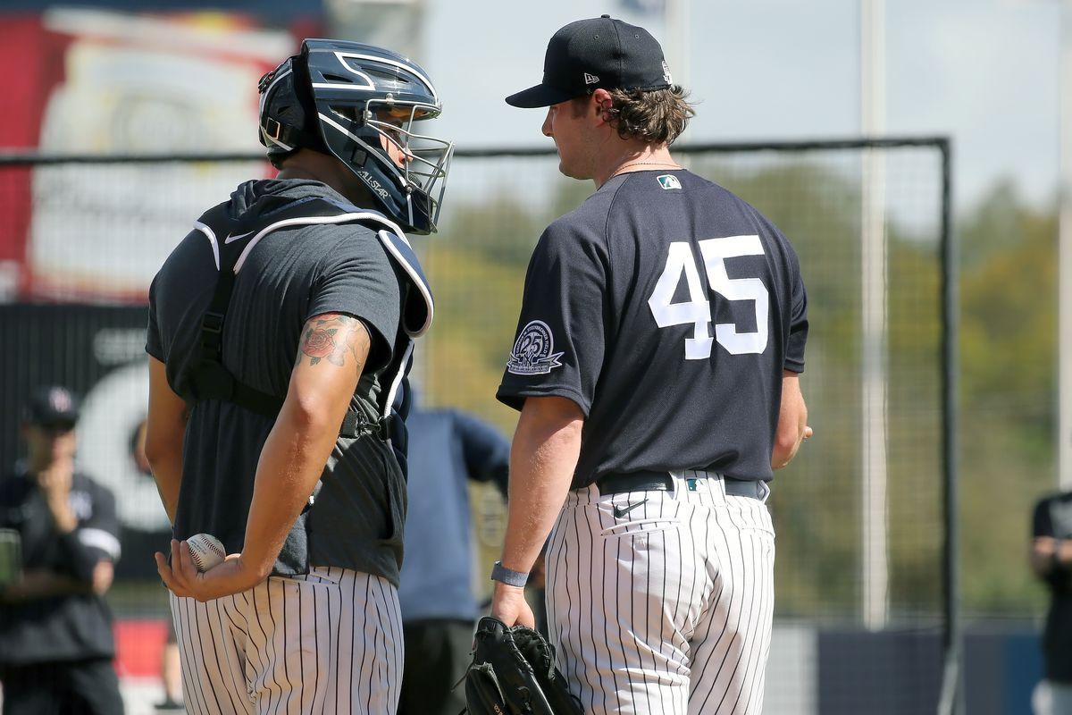MLB: FEB 16 Spring Training - Yankees Workout