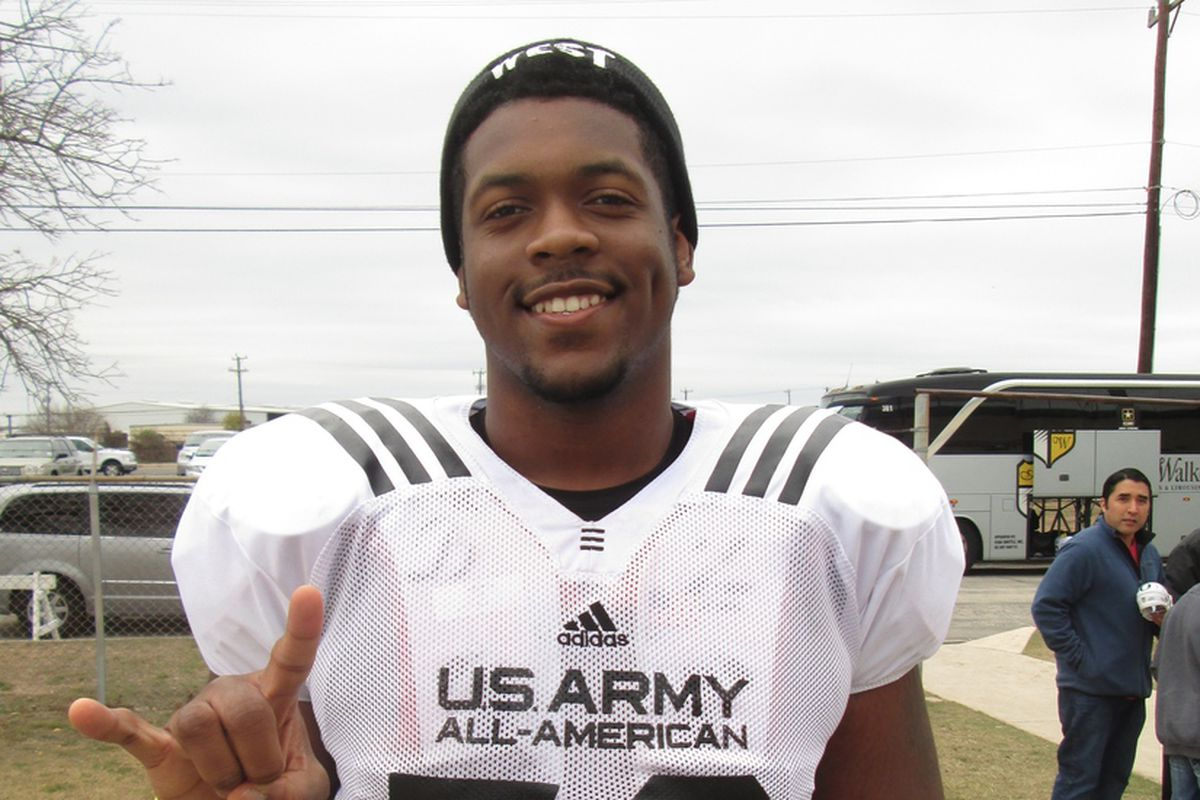 Kent Perkins at the US Army All-American game in 2013