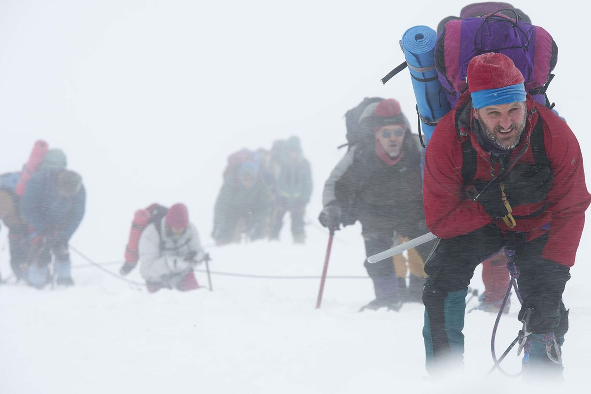 Portions of the new movie Everest were actually filmed on Mt. Everest.