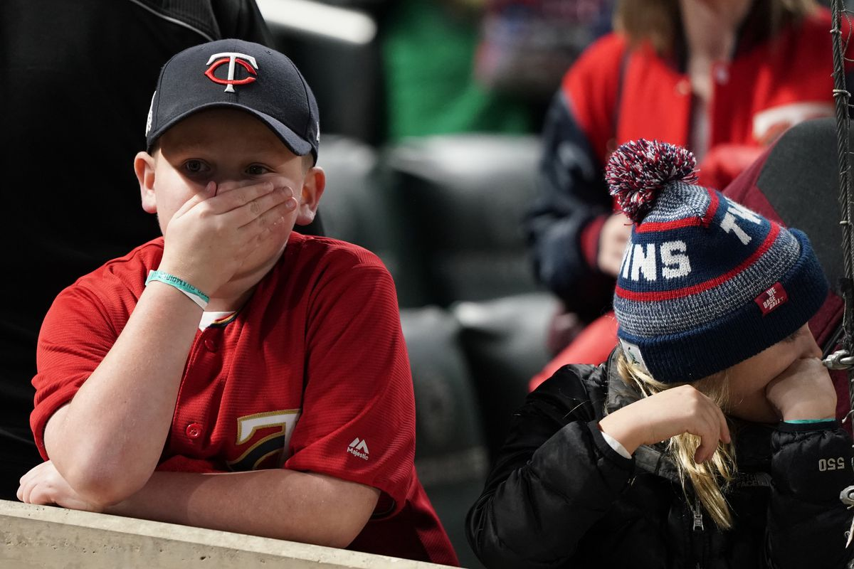 Minnesota Twins play the New York Yankees in Game 3 of the ALDS