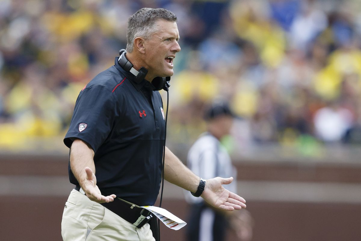 Utah head coach Kyle Whittingham is in the midst of negotiations to salvage his program.