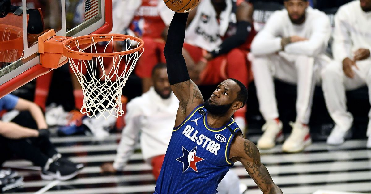 On a memorable NBA All-Star night, LeBron James still looms above the rest