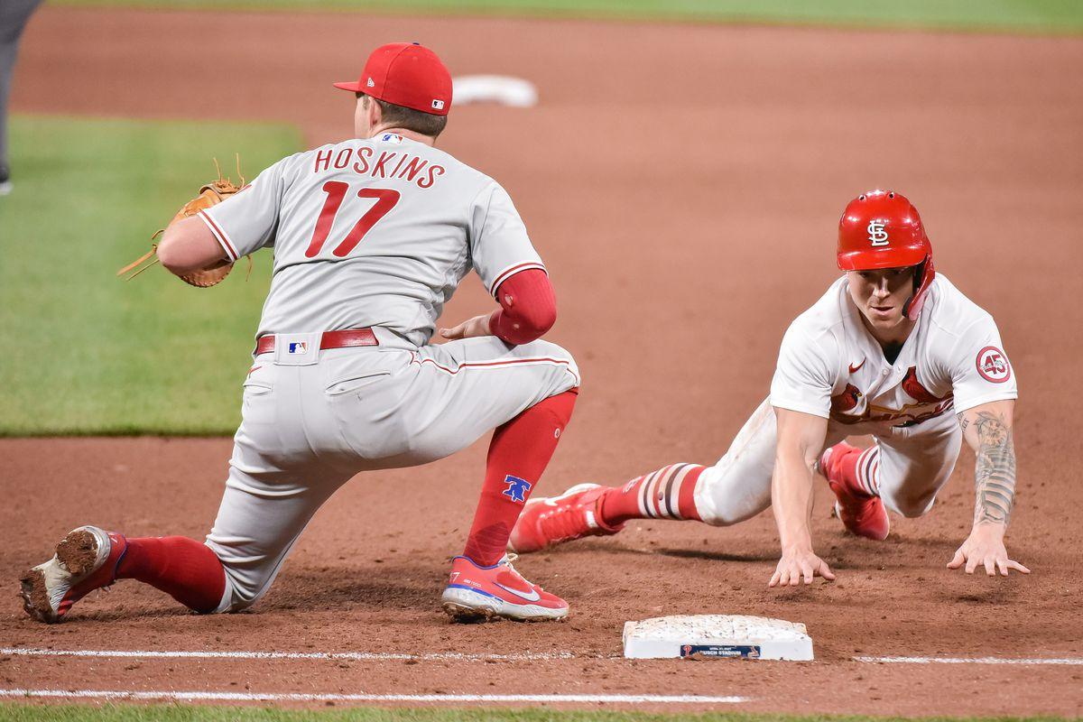 MLB: APR 27 Phillies at Cardinals