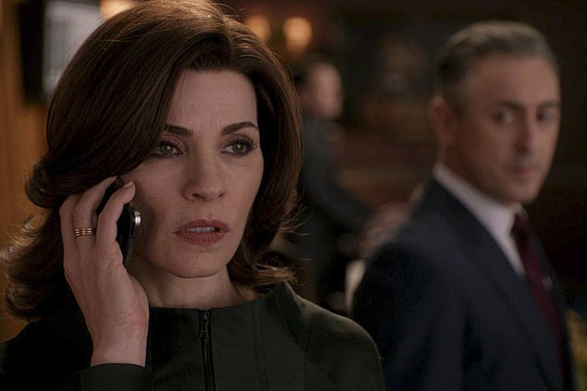 """""""What? No nomination for The Good Wife?"""""""