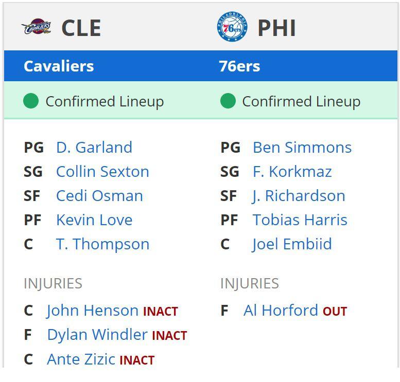 76ers vs cavaliers - photo #3