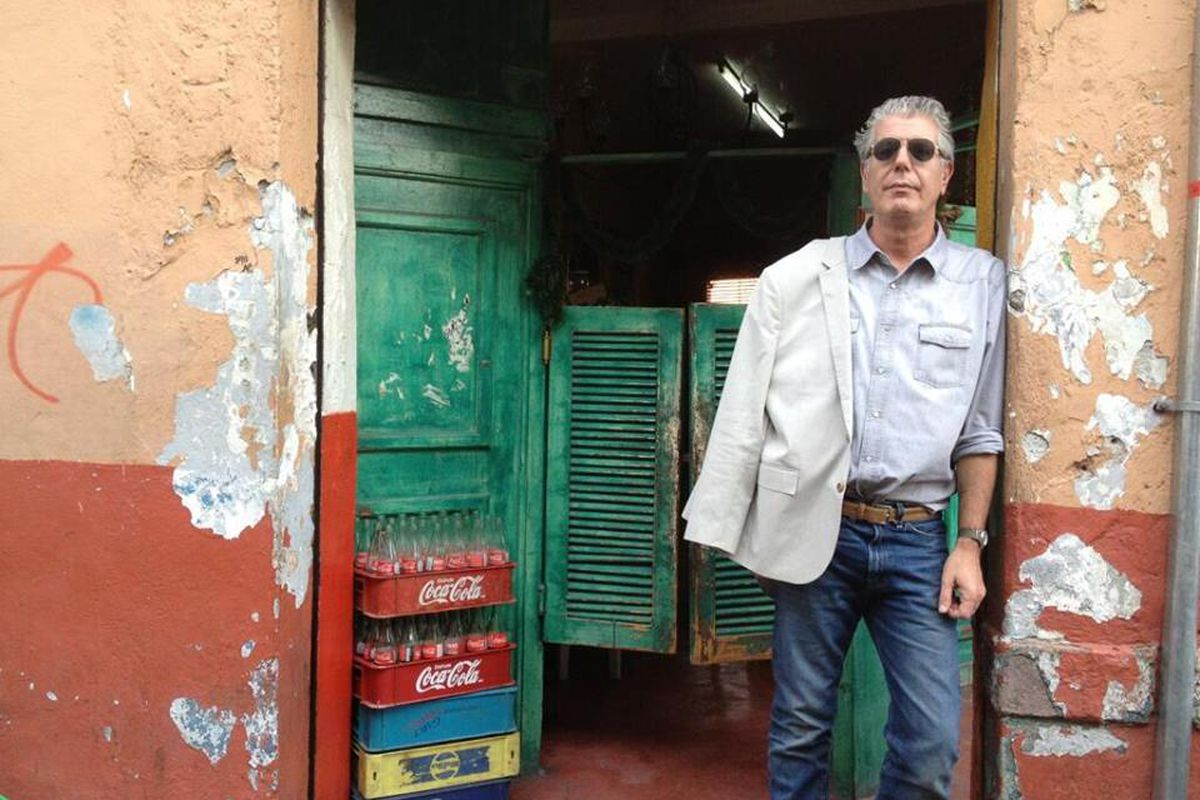 Bourdain is on the hunt for Houston's best food.