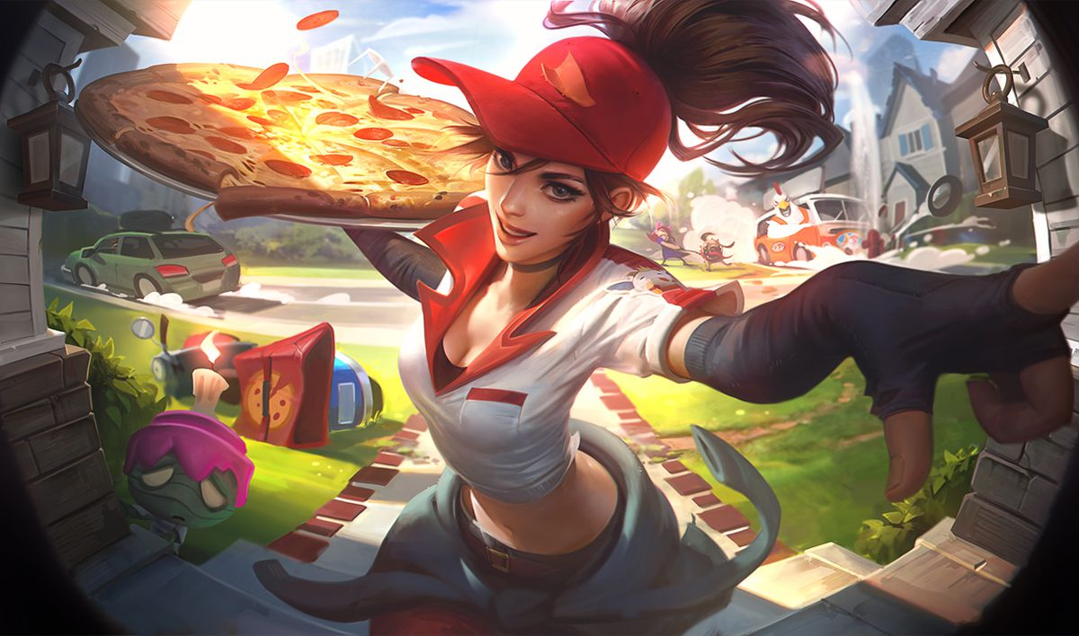 Pizza Delivery Sivir And Birdio Are The Delicious New April