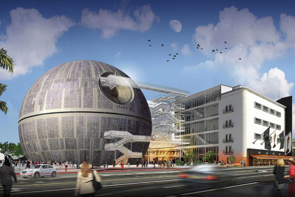 Renzo Piano S Hulking Glass Sphere Wins Darth Vader Award Curbed