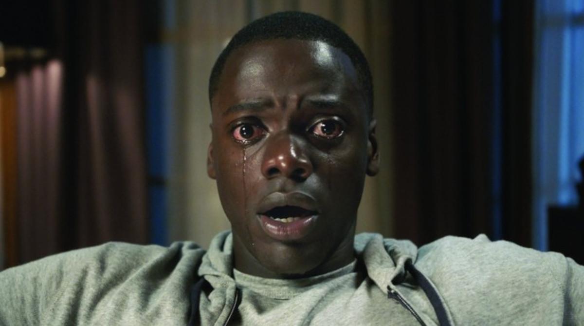 Daniel Kaluuya crying in 'Get Out'