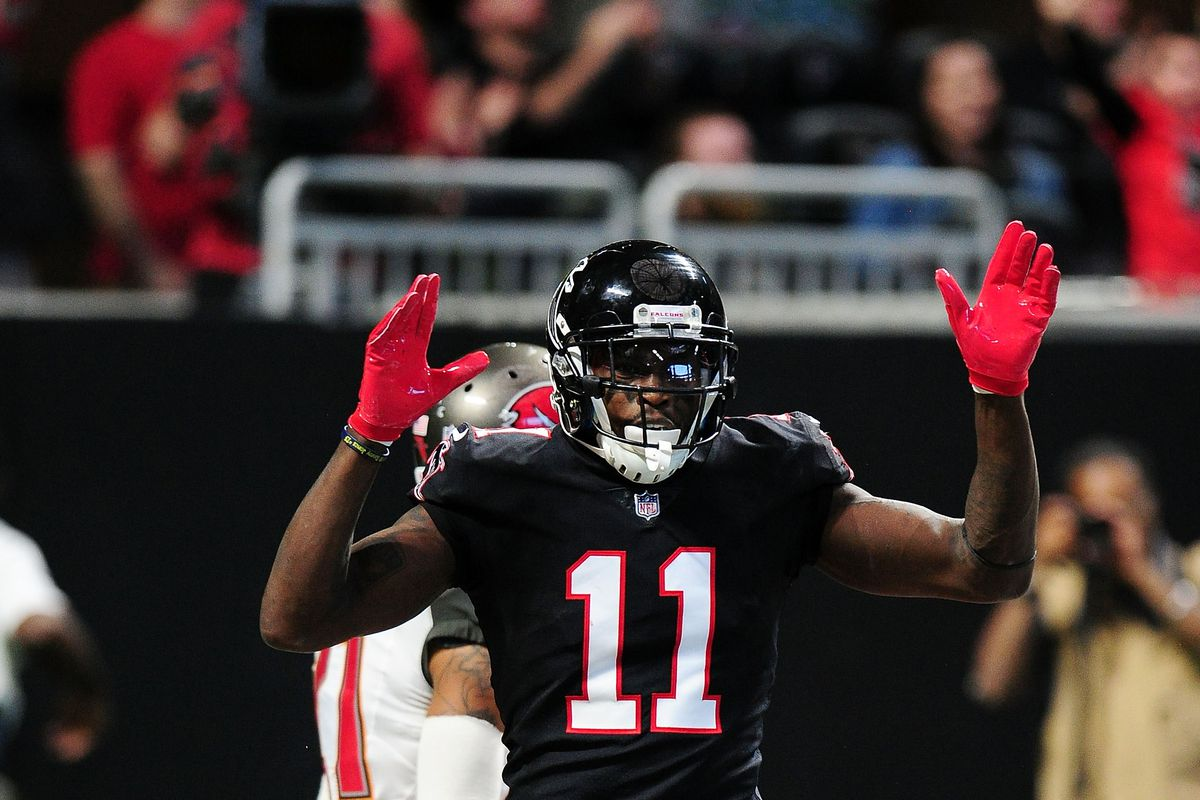 face2edebde Photo by Scott Cunningham Getty Images. We have spent the offseason  wondering how the Atlanta Falcons will make Julio Jones ...