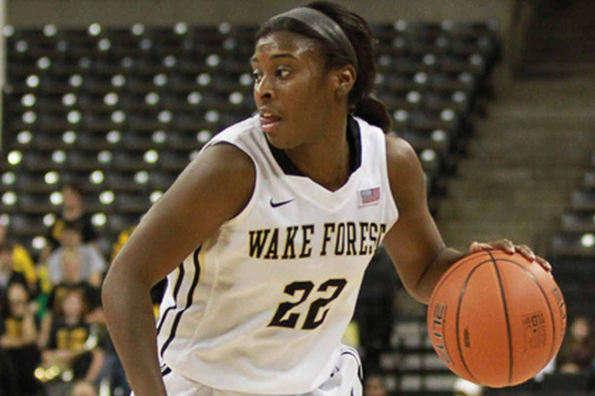 Lakevia Boykin led all scorers Sunday, en route to a 92-87 double OT win over BC