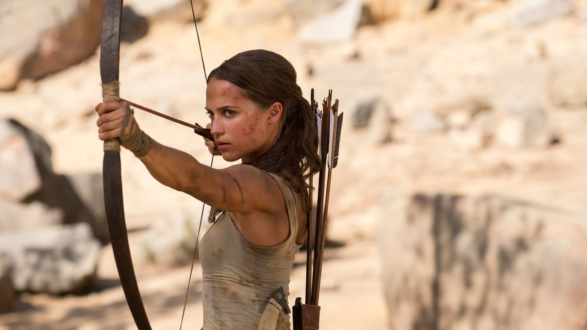 Image result for tomb raider movie lara