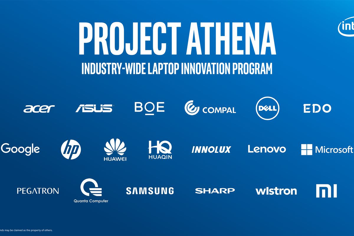 Intel's Project Athena pushes ...