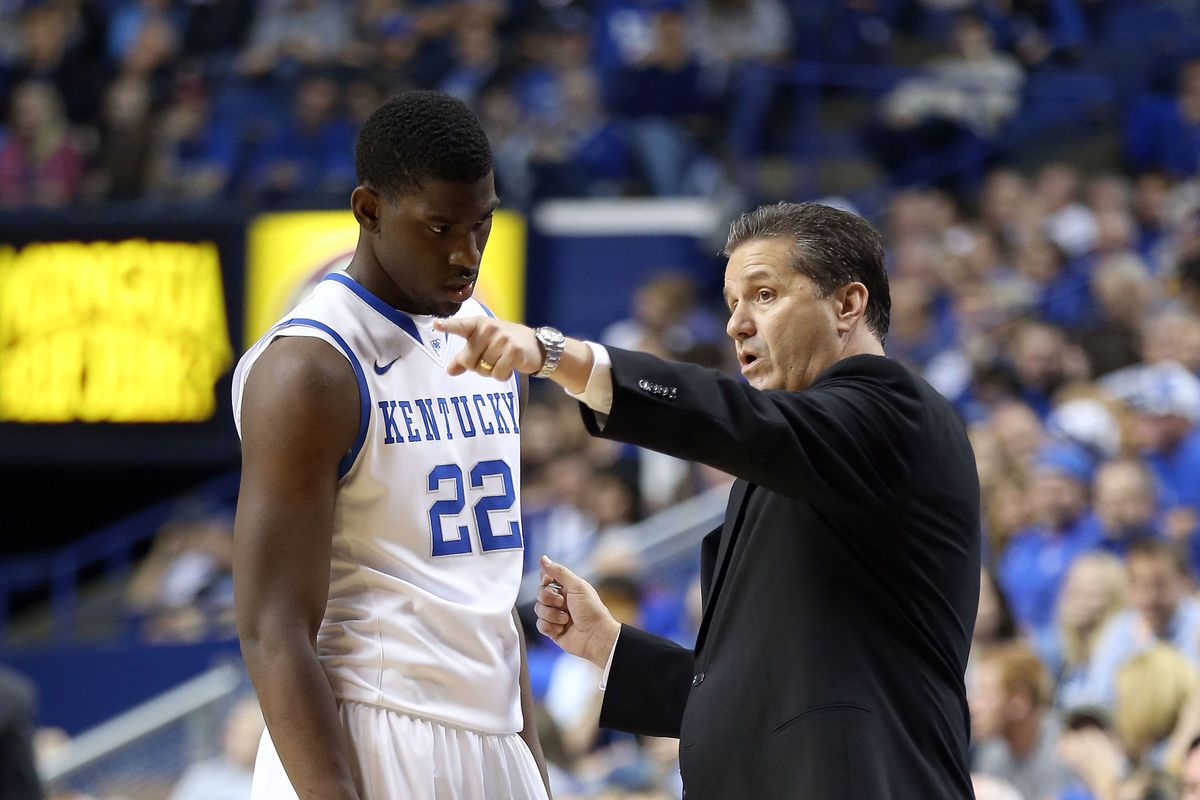 The learning curve at Kentucky is steep.